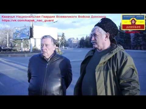 Проханов посетил позиции