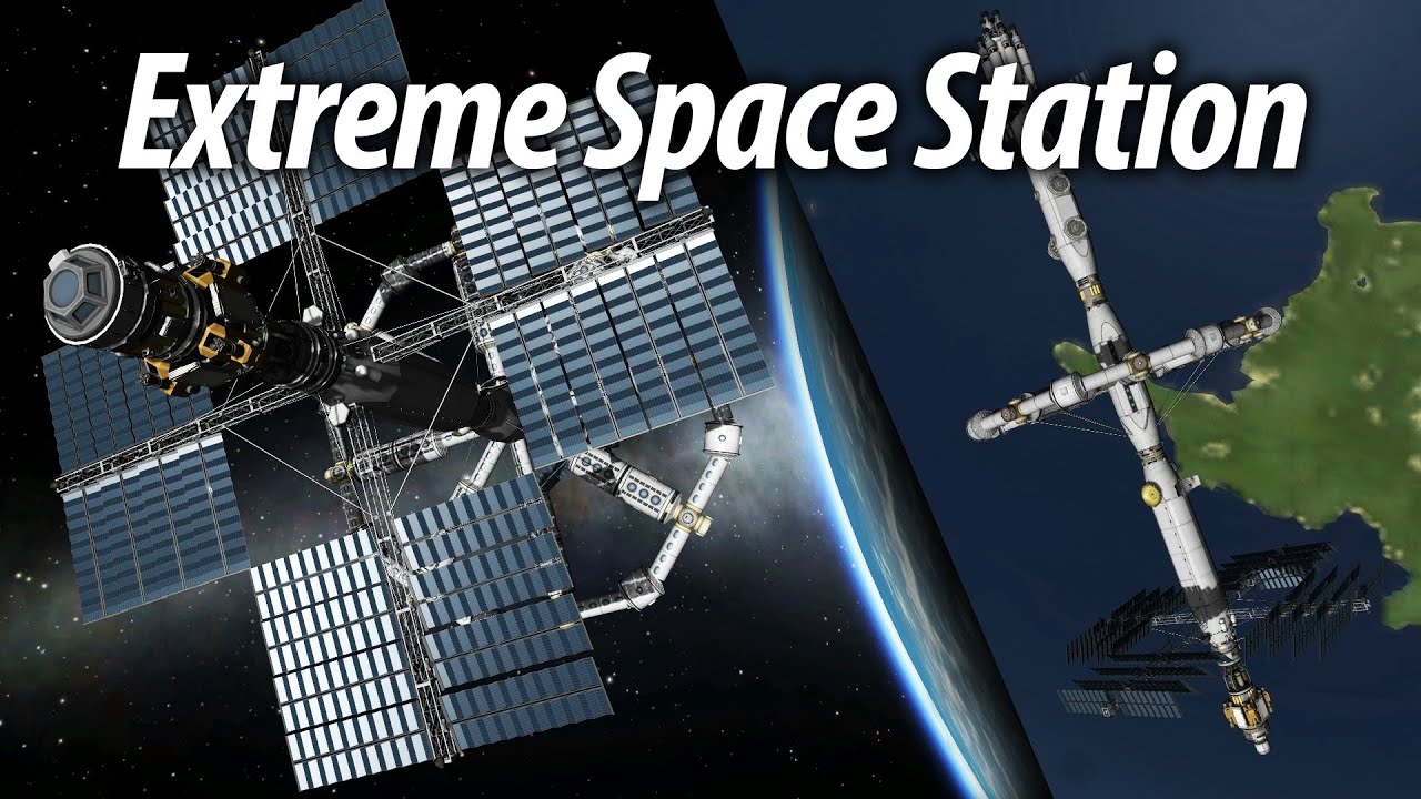 Extreme Space Station Completion (Tutorial: 24) Kerbal ...