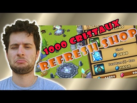 1000 CRISTAUX REFRESH SHOP FT. AV TYCAF | L'alternative aux