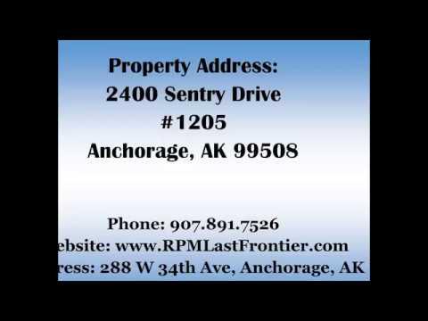 2400 Sentry Drive #1205 Anchorage, AK 99508