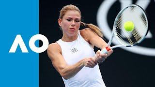 Camila Giorgi v Iga Swiatek match highlights (2R) | Australian Open 2019