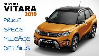 Suzuki Vitara 2019 Overview | Price | Specs | Mileage.