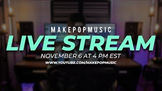Live Stream! Let's Work On Some Music and Answer Some Of Your Questions!