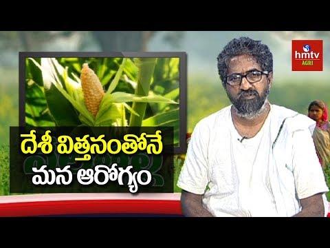 దేశీ విత్తనంతోనే మన ఆరోగ్యం | Farmer Vijayram Live Show | hmtv Agri