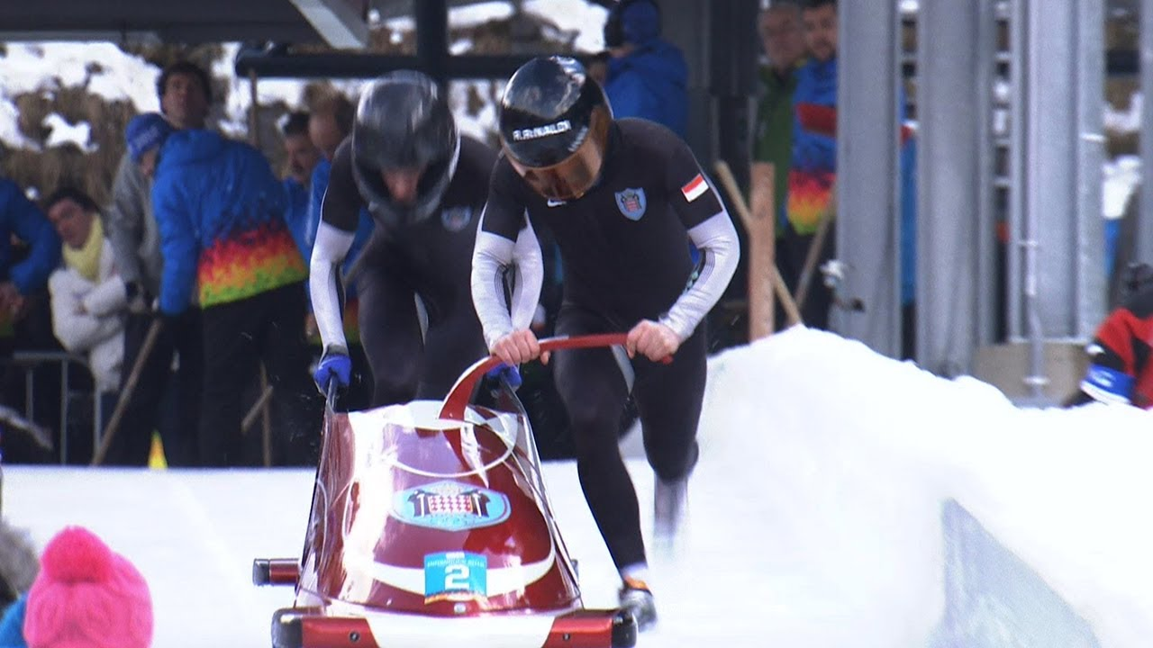 Italy on top of the Podium! - Innsbruck 2012 Bobsleigh Two Man Final
