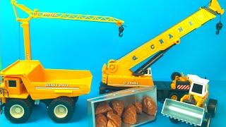 Fastlane Super Construction Set Mighty Machines Crane Dump Truck Front Loader