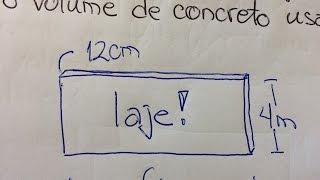 MFUNA | Gm2 - Aprenda como calcular o volume de uma laje