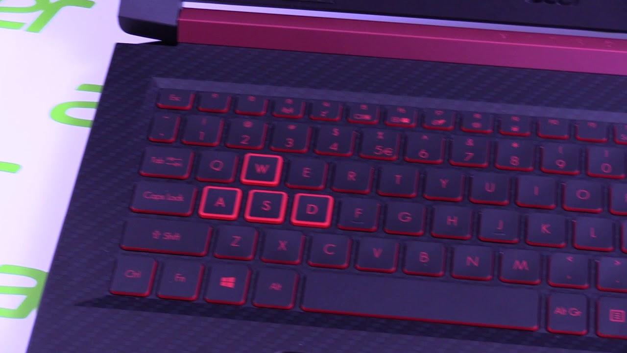 Acer Nitro 5 - Ryzen Gaming Notebook with AMD Radeon RX560