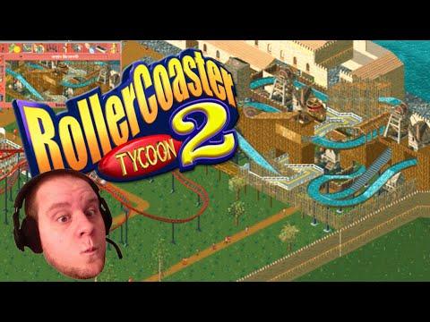 Roller Coaster Tycoon 2! Episode 3 (Fuck This Walkway)