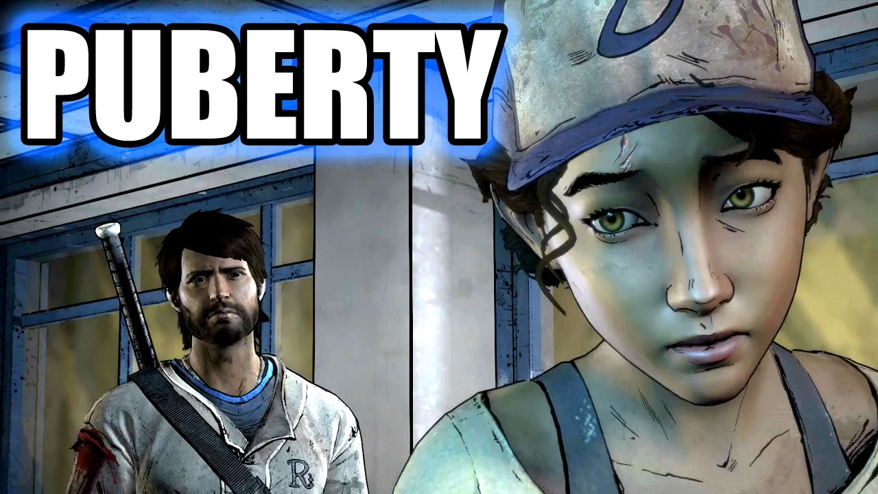THE WALKING DEAD A New Frontier - Clementine On Puberty / Her ...