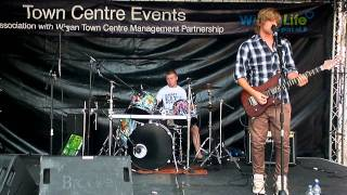 Wigan Bands For All - Colour Me Blind - King For A Day