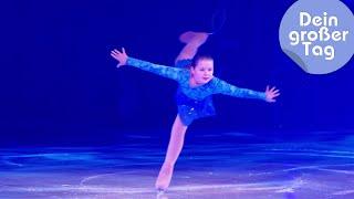 Auftritt bei Holiday on Ice - Katie beim Eiskunstlauf | Dein großer Tag | SWR Kindernetz