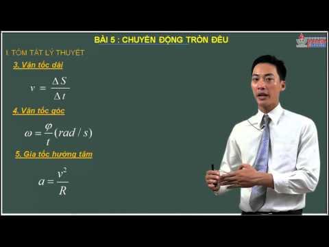 Vật lý 10 - Chuyển động chất điểm - chuyển động tròn đều - Cadasa.vn