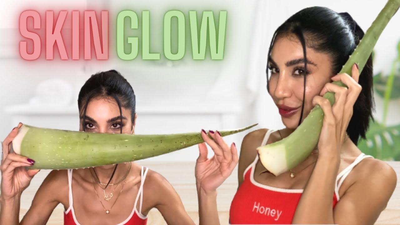 ماسكات للوجه طبيعية وسهلة   Glow your skin