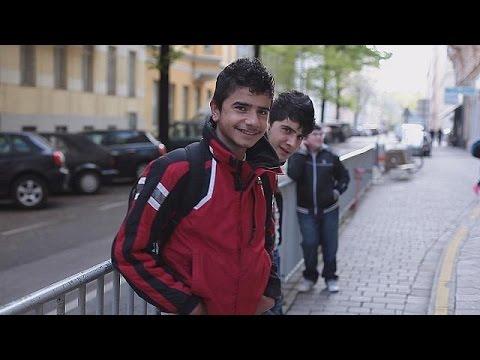 Mülteci çocukların Avrupa'daki eğitim...