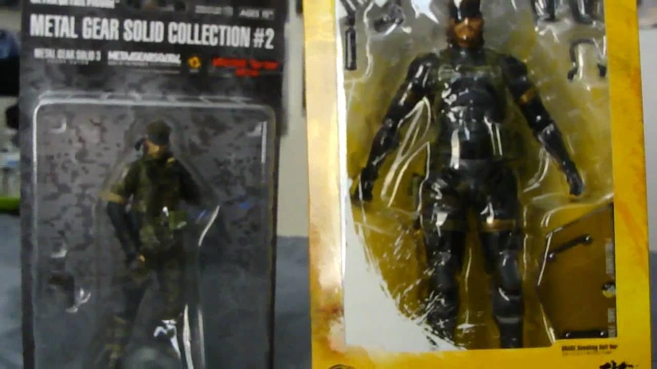 Play Arts Metal Gear Solid Peace Walker Snake Sneaking Suit Version Figure Part 1 In Box
