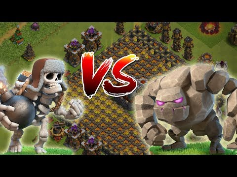 RIESENSKELETT vs GOLEM! || Clash of Clans || Let's Play CoC [Deutsch German]