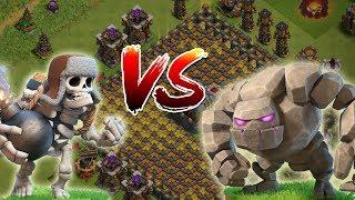 RIESENSKELETT vs GOLEM! || Clash of Clans || Let