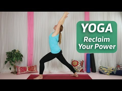 Yoga to Reclaim Your Power ♥ Clear Anger | Yoga to Move Stuck Energy | Yoga Breathing Technique