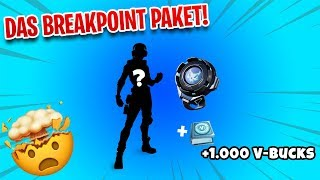 Das NEUE BREAKPOINT Paket + 1.000 V-Bucks 😍 Fortnite