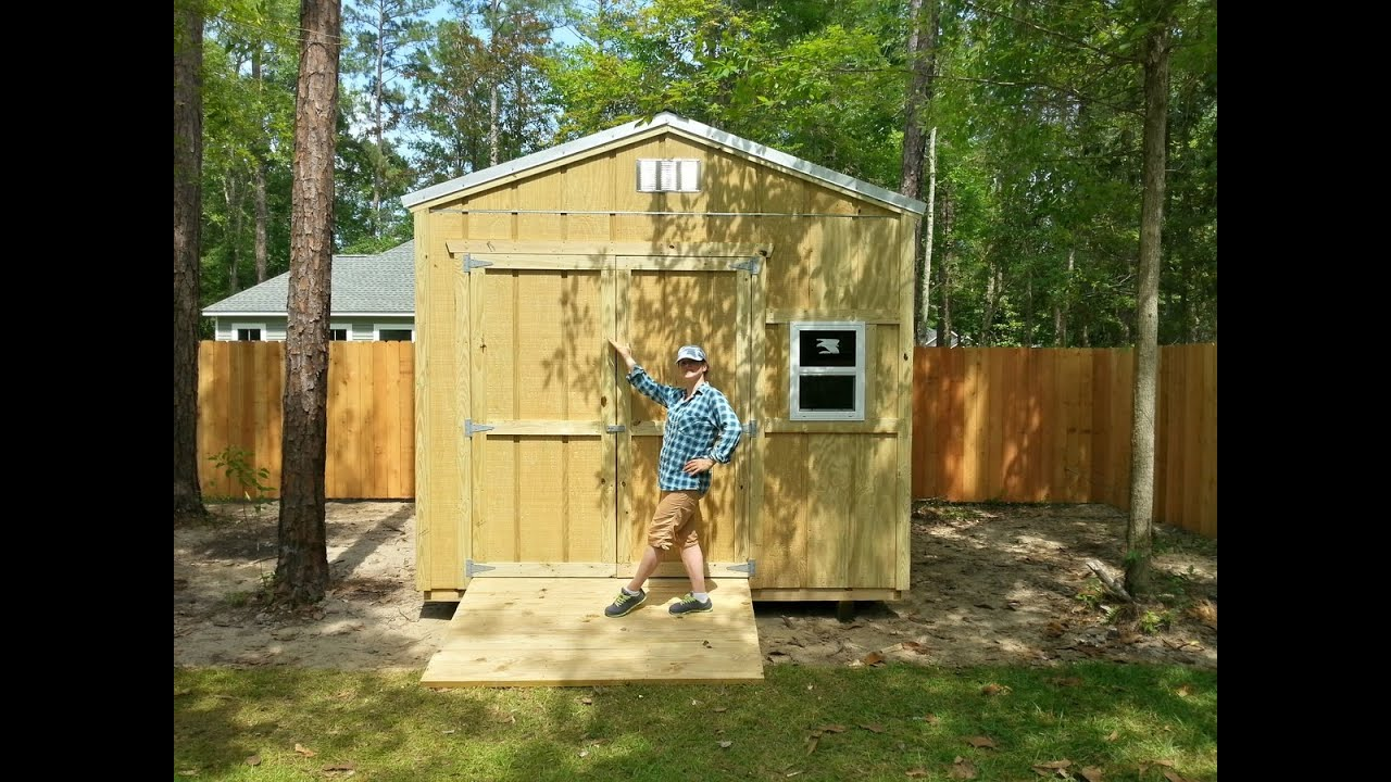 10x12 gardenstorage shed shed plans stout sheds llc youtube