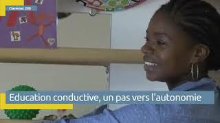 Reportage de ViaOccitanie, 24/10/18,  Handicap L'éducation conductive, un pas vers l'autonomie