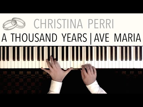 Christina Perri - A Thousand Years (Wedding Version) featuring 'Ave Maria'