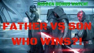 STAR WARS BATTLEFRONT II (2) SICK KILLS - LUKE, DARTH VADER, KYLO REN - SPACE ODDITY PS4 (2018)