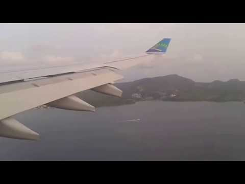 Air Caraibes A330 Landing at Fort de France(Martinique) [FDF/TFFF]