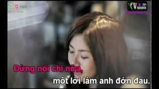 [KARAOKE HD] Không Còn Nhau - OnlyC ft Amanda Baby