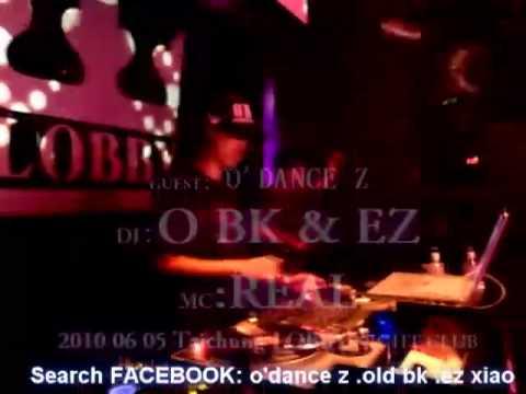 20100605 djobk @ 台中 LOBBY night club live 2-2 electro hip hop party