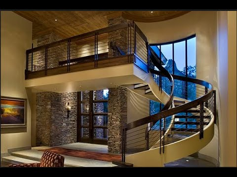 Beautiful Modern Staircase Design Ideas To The Second Floor#1 ...