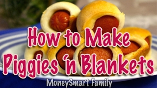 How to Make  Piggies in Blankets with crescent rolls