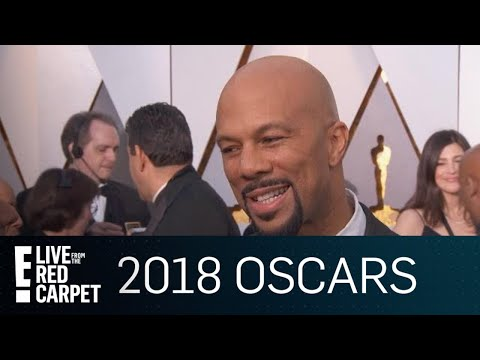 Common Talks Being Nominated & Performing at 2018 Oscars | E! Live from the Red Carpet