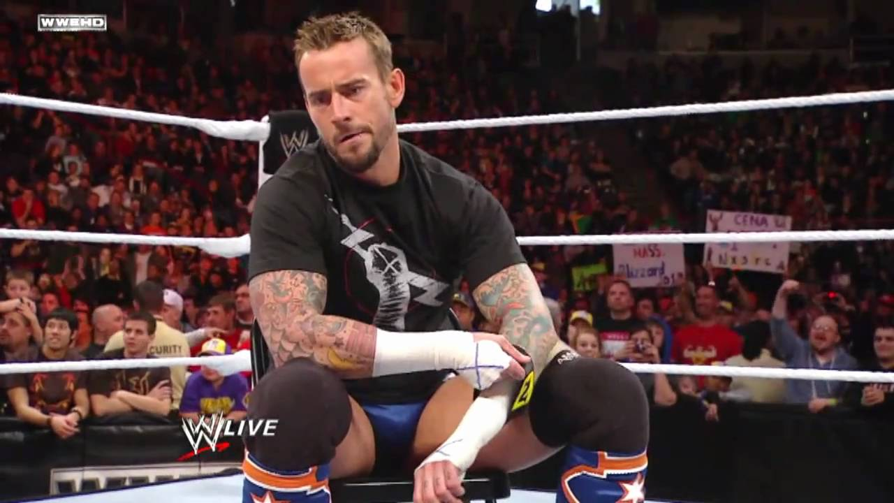 Cm Punk Joins Nexus And Cowardly Attacks John Cena Hd Youtube