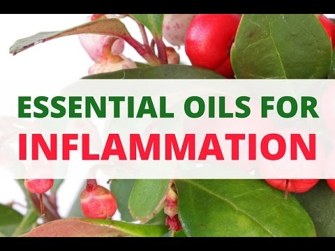 Fight Inflammation Naturally With These Essential Oils Youtube