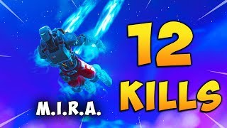 Fortnite gameplay of the hour with the new skin M.I.R.A. Carlos PS4