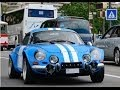 1970 Classic Renault Alpine and Classic Race Cars Racing