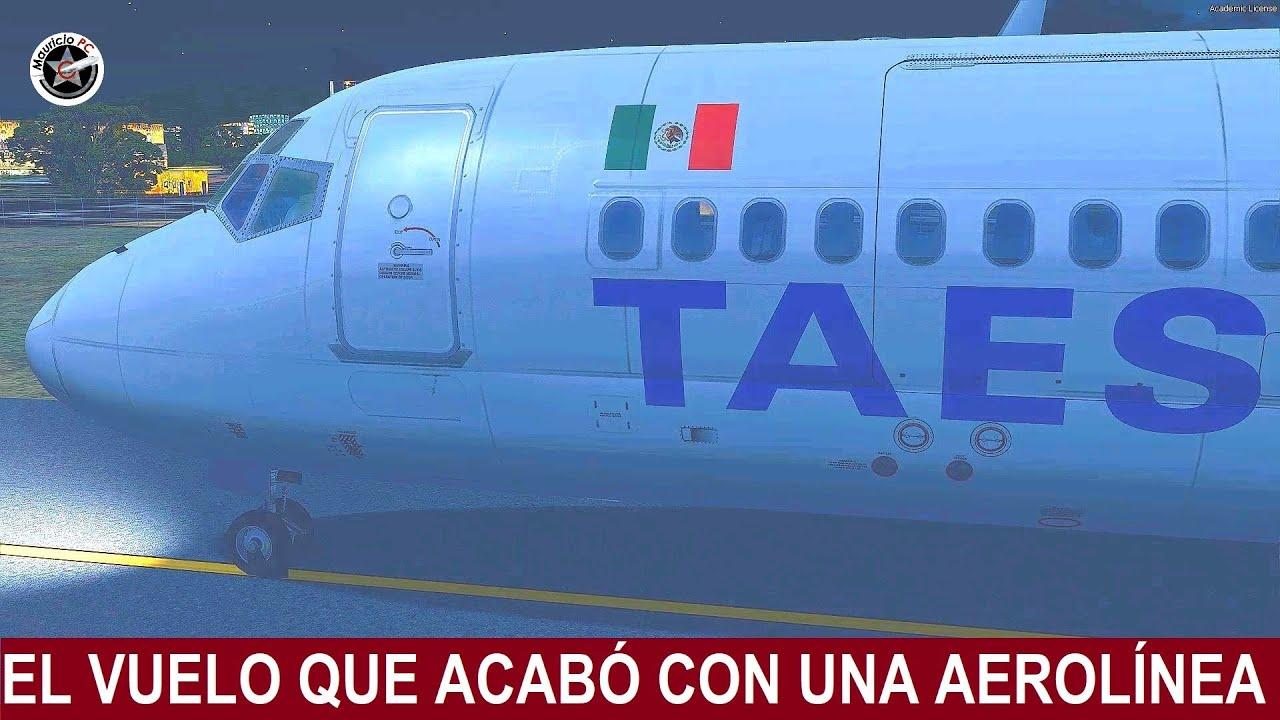 El Accidente Que Acabó Con Una Aerolínea En México - Vuelo del DC-9 de TAESA