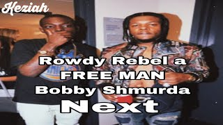 To the fans Rowdy Rebel is released from prison!!Also Young Thug gifted Rowdy Rebel diamond chains🤑