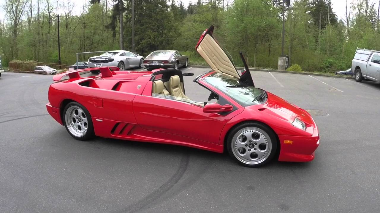 1999 Lamborghini Diablo Roadster Vt For Sale Youtube