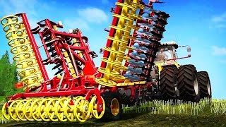 МЕГА ТЕХНИКА ★ Farming Simulator 17