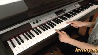 Расположение октав на клавиатуре фортепиано