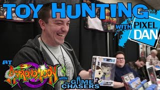 TOY HUNTING with Pixel Dan at Astronomicon featuring The Game Chasers!