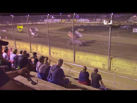 Fremont Speedway 305 Sprint Cars A Main (7/28/18)