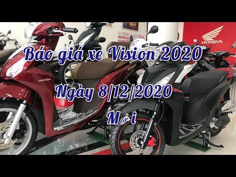 Bảng giá xe Honda VISION 2020 ngày 8/12/2020 mới nhất   khi nào VISION 2021 ra mắt?