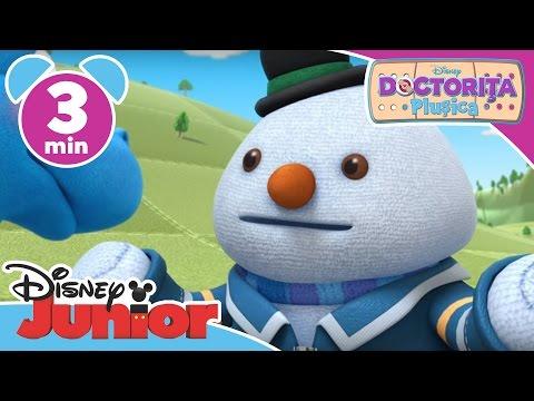 Doctorița Plușica – Globul de zăpadă va fi agitat. Doar la Disney Junior!