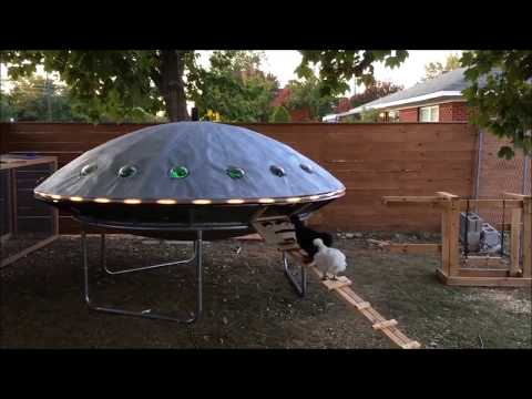 This UFO chicken coop is everything