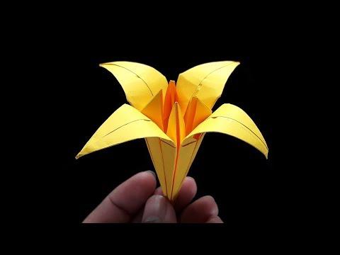 Origami Iris Flower | Paper Flower