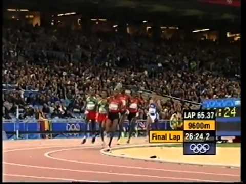 10,000m Final Men, Olympic Games Sydney 2000   Haile Gebrselassie   Paul Tergat   YouTube